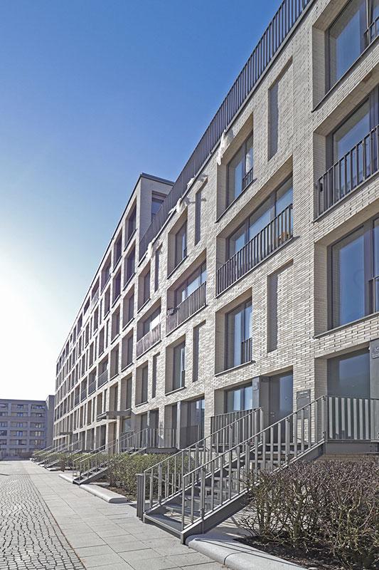 Moderner Wohnungsbau mit optimiertem Tragwerk