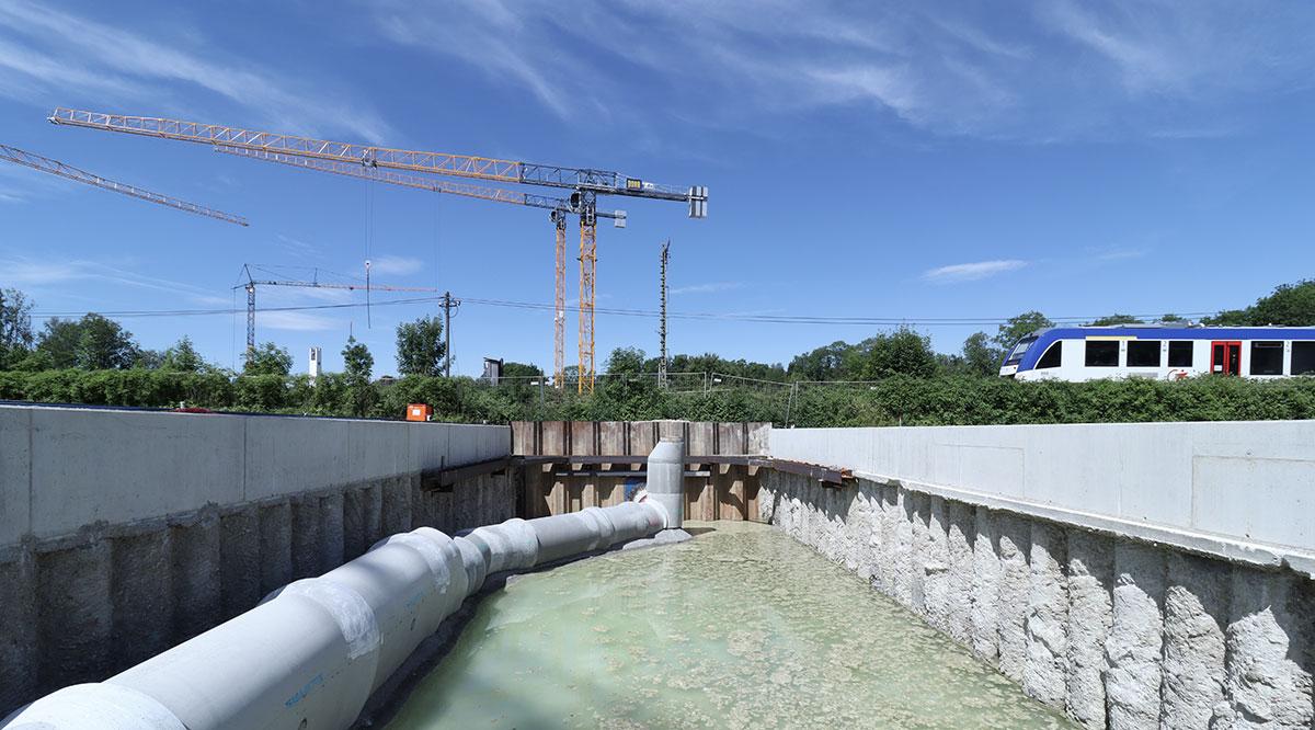 Baustelle Juli 2021, EÜ Landsberg am Lech